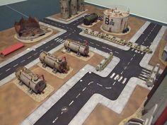Tank farm/Industrial terrain