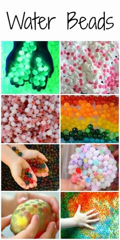 20+ awesome ways to learn and play with water beads!