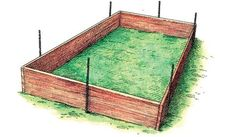 If space is an issue the answer is to use garden boxes. In this article we will show you how all about making raised garden boxes the easy way. Garden Bed Layout, Backyard Garden Design, Large Backyard, Modern Backyard, Building A Raised Garden, Raised Garden Beds, Raised Beds Bedroom, Stone Raised Beds, Raised Bed Frame