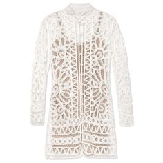 Style Risk for 2015: Wear a Sheer Dress - Stone Cold Fox White Topeka Lace Dress