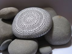 painted rock   by johnny karwan