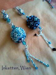 Inspiration only. Blog not in English. InKetten: Bead Embroidery