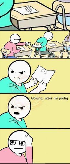 Tylko płakać Funny Laugh, Wtf Funny, Funny Fails, Funny Cute, Funny Jokes, Hilarious, Funny Cartoons, Funny Comics, Polish Memes