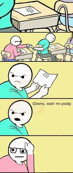 Tylko płakać Funny Laugh, Wtf Funny, Funny Cute, Funny Jokes, Hilarious, Funny Cartoons, Funny Comics, Polish Memes, Best Memes Ever