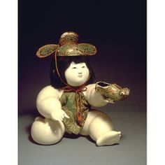 Representation of Zhang Liang; Gosho Doll.  Edo Period, 19th c.  Kyoto National Museum