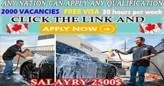 Car Wash Attendant need  workers Work Site, Attendance, Travel Information, Find A Job, Car Wash, 40 Hours, How To Apply, Reading, Job Offers