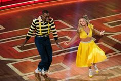 Lindsay and Megatron Family Matters TV Night DWTS