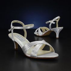 TOUCH UPS NAOMI-895 WHITE, IVORY Wedding and Bridesmaids Shoes, WHITE, IVORY Bridal Shoes