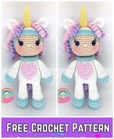 Irresistible Crochet a Doll Ideas. Radiant Crochet a Doll Ideas. Easy Crochet Projects, Crochet Crafts, Crochet Dolls, Crochet Yarn, Double Crochet, Love Crochet, Crochet Flowers, Crochet Toys Patterns, Stuffed Toys Patterns