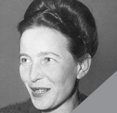 «No se nace mujer, se llega a serlo.»  Simone de Beauvoir
