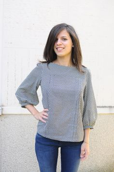 Martina's Mathilde blouse