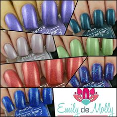 Emily de Molly October 2015 Releases - Swatches & Review by Olivia Jade Nails
