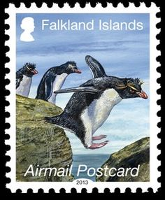 Buy Falkland Island Penguins 2013 stamps at Falklands Post Service Limited, official post and philatelic service operating on behalf of the Falkland Islands Government. Rockhopper Penguin, British Overseas Territories, British Indian Ocean Territory, First Day Covers, Penny Black, Mail Art, Stamp Collecting, My Stamp, Postage Stamps