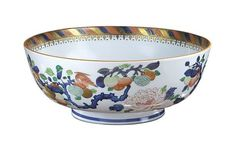 Basset Hall Punch Bowl by Mottahedeh