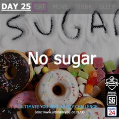 Welcome to Day 24 of the Free Ultimate You Healthy Habits Challenge brought to you by Sleekgeek and Diet And Nutrition, Healthy Habits, Challenges, Sugar, Eat, Food, Essen, Yemek, Meals