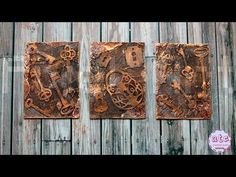 Old Keys - Mixed Media ATC series - Artist Trading Cards (start to finish) Pixel Art Design - YouTube