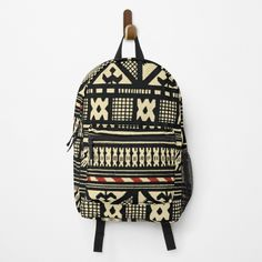 Best Dad Gifts, Cool Gifts, Gifts For Dad, Fathers Day Gifts, Red Backpack, Fashion Backpack, African Mud Cloth, Clothing Patterns, Backpacks