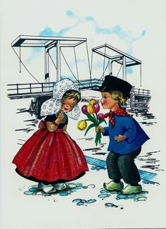 Boy giving girl flowers near bridge | Flickr - Photo Sharing!