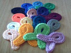 crochet pattern - remembrance ribbons