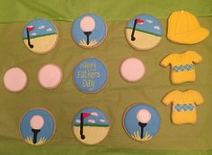 Golf cookies for Father's Day