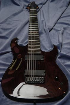 Shamray custom 8 string guitar