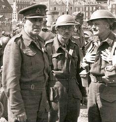 Surrender of Major General Fortune at St Valery-en-Caux, June 1940. 51st Highland Division