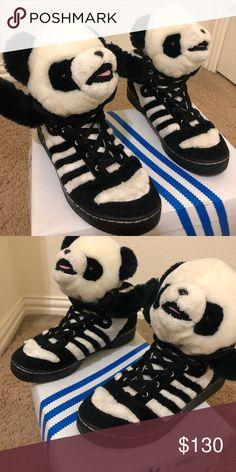 new arrival 580ed 26338 Jeremy Scott Pandas Adidas Adidas X Jeremy Scott Pandas. Size 9 in mens. No