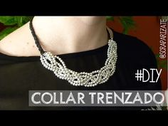 DIY: Collar trenzado kumihimo - Kumihimo braided necklace - YouTube