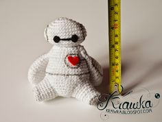 "free pattern : Big Hero 6 - Baymax by ""Krawka"""