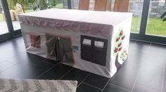 tischdecke spielhaus anleitung buttinette bauideen. Black Bedroom Furniture Sets. Home Design Ideas