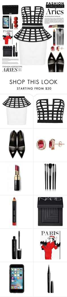 """Aries : Fashion horoscope💄"" by iconsoffashion ❤ liked on Polyvore featuring sass & bide, Yves Saint Laurent, Bobbi Brown Cosmetics, Illamasqua, NARS Cosmetics, Marc Jacobs, Oliver Gal Artist Co., OtterBox and Chanel"