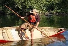 North West Woodsman Canoe Poling