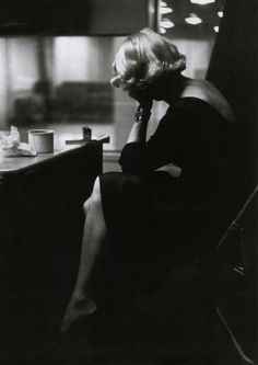 Marlene Dietrich photographed by Eve Arnold in 1950.