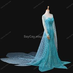 Hey, I found this really awesome Etsy listing at https://www.etsy.com/listing/187188080/frozen-elsa-dress-queen-elsa-costume