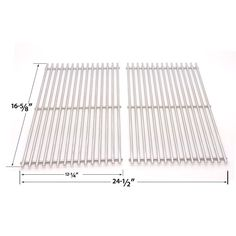 2 PACK STAINLESS STEEL COOKING GRID REPLACEMENT FOR CENTRO 2000, 4000, 85-1210-2, 85-1250-6, 85-1273-2, 85-1286-6, G40204, G40205, G40304, G40305, G40202 GAS GRILL MODELS  Fits Centro Models : 2000, 4000, 85-1210-2, 85-1250-6, 85-1273-2, 85-1286-6, G40204, G40205, G40304, G40305, G40202  BUY NOW…