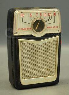Vintage 6 Transistor Radio M.O. 6T-180