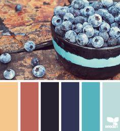berried palette - design seeds