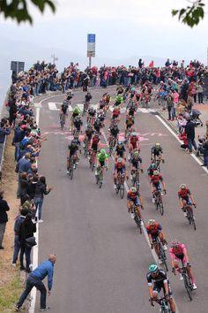 100th Tour of Italy 2017 / Stage 2  Peloton / Nuoro Mountains / Landscape / Lukas POSTLBERGER Pink Leader Jersey / Olbia Tortoli / Giro /