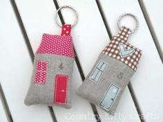 fabric house key rings