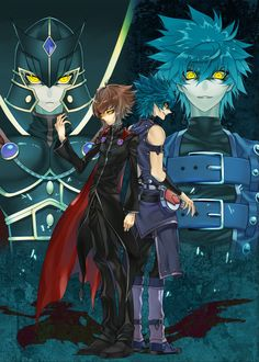 Jesse and Jaden/Johan and Judai | JUST SO WE ARE CLEAR THIS PIC DOESN'T SEEM SHIPPY TO ME OKAY