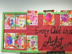 Every child is an artist. We make our own Picasso in P3!