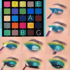 Eye Makeup Steps, Makeup Eye Looks, Beautiful Eye Makeup, Eye Makeup Art, Eyeshadow Looks, Makeup Inspo, Eyeshadow Makeup, Makeup Inspiration, Beauty Makeup