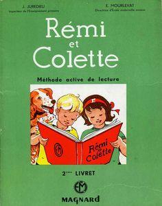 Manuels anciens: Rémi et Colette (méthode de lecture CP, 1960)