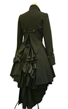 Steampunk coat. Great for Elisabeth. (The Sixth Gate or part of the trilogy)