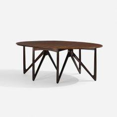 Kurt Ostervig, Drop-leaf Dining Table