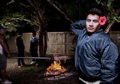 From the series: Jerry The Fa'afafine 2010 © Tanu Gago Kool Kids, Auckland, Interview, Culture, Portrait, Gallery, Photography, Aries, Color