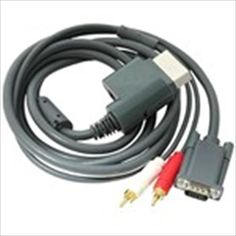 6Feet VGA HD AV Cable with Optical Toslink & Stereo RCA Audio Output for Microsoft Xbox360