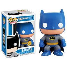 Batman 9 Chase version Pop! Vinyl DC Universe Vinyl Figure : Forbidden Planet