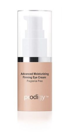 Prodigy Advanced Moisturizing Firming Eye Cream by Prodigy Skin Care. $68.00. Reduces fine lines and wrinkles with Acetyl Hexapeptide. Protects against environmental damages with Retinol. Suitable for all skin types. Fragrance Free. Visibly diminishes morning puffiness with Matrixyl. Gently smooth onto the skin around your eyes. Avoid contact with eyes. Use twice a day or as recommended by your physician. If irritation occurs, rinse off and discontinue use. For topical u...