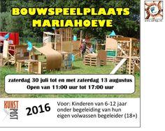 30 Jul - 13 Aug - Bouwspeelplaats Mariahoeve 2016 - http://www.oktip.nl/30-jul-13-aug-bouwspeelplaats-mariahoeve-2016/